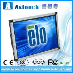19 inch saw touch screen waterproof open frame monitor elo controller vending/gaming machine