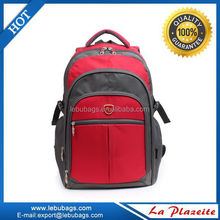 Promotional cheap waterproof backpack bag with computer and ipaid pocket