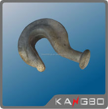 Wholesale galvanized Split ending hook