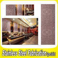 Stainless Steel Decorative Sheet Metal Wall Covering