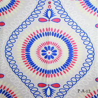 2015 new design beautiful upholstery printed imitated cotton linen fabric