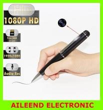 HD Video Audio Hidden Camera Spy Pen /8GB MicroSD Included - 1080p, 30fps, Silver