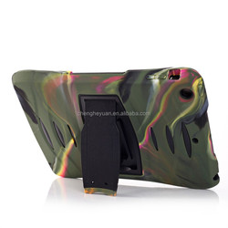 High Quality Hybrid Rugged PC TPU Stand shockproof case for apple ipad 2 3 4
