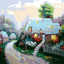 modern art paintings by numbers for home decoration Quiet Rural