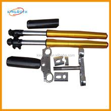 China 735mm 45/48mm front fork dirt bikes adjustable gas shock absorber