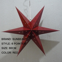 High profeesional paper star Wholesales for Xmas