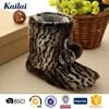 sexy and warm animal print yong fashionable boots