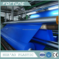 Solid Color PVC Film of High quality for raincoat with different emboss