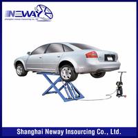 portable hydraulic scissor car lift