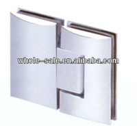180 degree stainless steel glass door shower hinge HS09F006