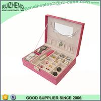 Wholesale coustom fashion women PU leather watch box
