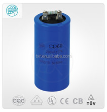 (electronic component) CD60-A10 ac motor 107uf+/-5% Capacitors