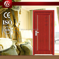 2014 Hot Sale 100% wooden interior solid wood door with higher quality