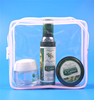 High quality EVA square shape clear waterproof bag for cosmetic