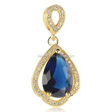 mixed stone pendant 2015 imitation celebrity jewelry