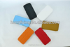 beautiful pu leather cellphone case for iphone 5 with factory price