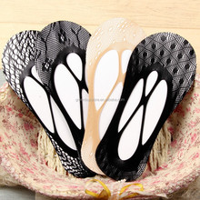 Sexy Lace Cross Sock Slippers 10 Pairs/Lot Slip-resistant Shallow Mouth Thin Sock Cutout Invisible Boat Sock Slippers