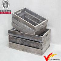 Wholesale Shabby chic vintage wood fruit crates