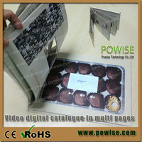 LCD Video Brochure Video Book Video Greeting card as effective tool for marketing events