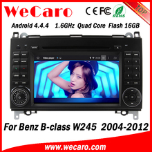 "Wecaro 7"" android 4.4.4 WC-MB7511 WIFI 3G Touch Screen car radio player for benz b class w245 car dvd gps 2004-2012"