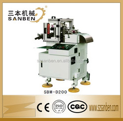 (SBM-D200) unique technology small hole EPC die cutting machine, 18000pcs/h high speed electronic product die cutting machine