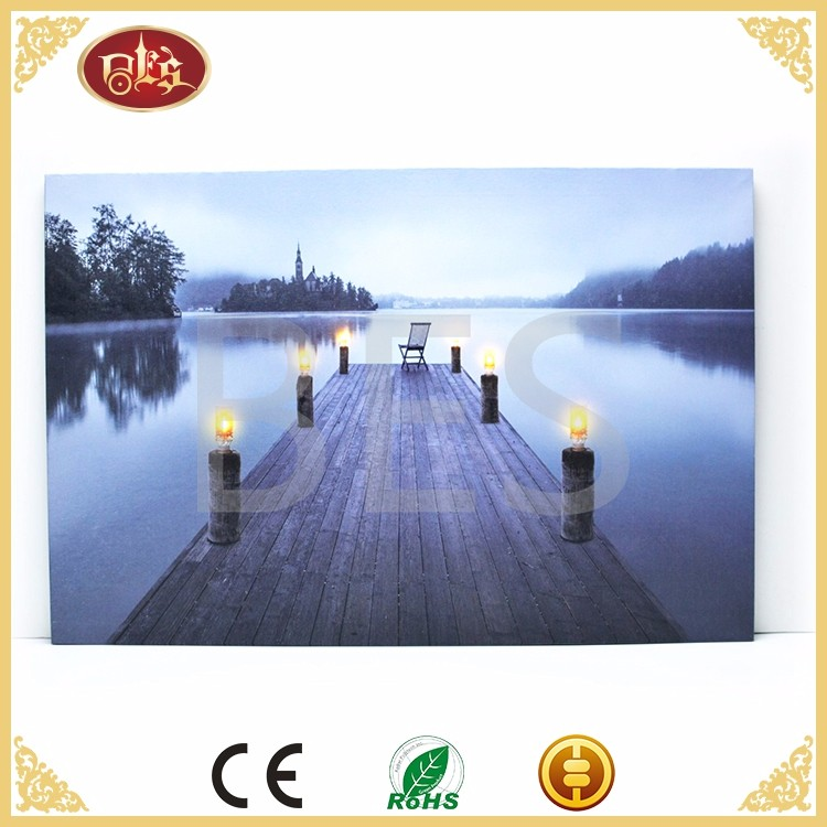 BD29017-landscape ighted wall art