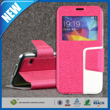 C&T Dual Colour Popular universal PU leather wallet case for samsung galaxy s5