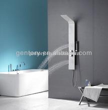 2014 cupc certifié en alliage d'aluminium colonne de douche chaude vente nouveau modèle a120 panneau de douche sanitaires