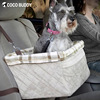 2015 hot sale pet dog booster seat on car pet dog seat cover dog carrier