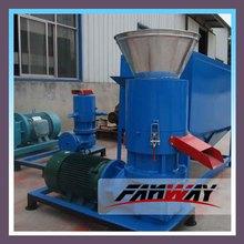 factory price flat die rice husk pellet machine with 100kg/h