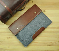 custom business for sale china bags factory supply cowhide handmade universal sleeve for tablets for galaxy tab 8.1