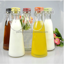 New product bulk glass milk bottle cork with swing top