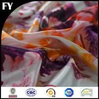 Factory high quality digital printed taffeta shantung fabric
