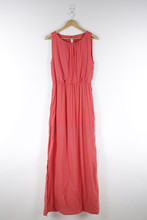 Ladies Elegant Pleat Sleeveless Latest Long Skirt Design