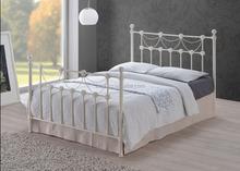 teak wood double bed designs 3ft/4ft/5ft double Europe fashion adjult metal bed frame