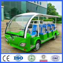 2015 very cheap cars from china electrical vehicle 14 seats battery tourist car