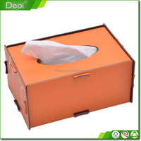 Hotel PP foam board Tissue Box and Tissue case for gifts and tissue box holders and storage