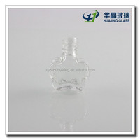 3 ml Plum flower shaped custom made nail polish bottle for sale