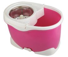 2015 new design hand press 360 spin mop and bucket