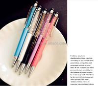 Promotion Original Factory Diamond Pen Metal Crystal Stylus Gift Pen For School Kids