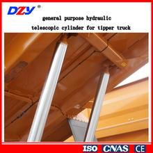 OEM hydraulic telescopic cylinder for tipper truck