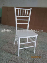 wholesale white wood chiavari chair dining chair