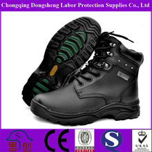 Black Cheap Walking Safety Army Military Boots