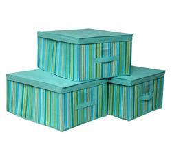 hot popular foldable clothing fabric non woven storage box