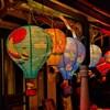Paper decorations lantern balloon