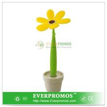 Novelty Design Pen & Mini Pot - Buttercup For Fun