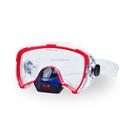 feminino máscara de silicone para esportes aquáticos