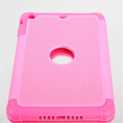 2015 hot sale factory supply Grid line mobile phone case For iPad mini