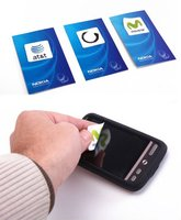 sticky mobile phone screen cleaner