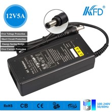 60W Ac Dc adapter for Laptop LCD CCTV LED lightings Desktop Adapter